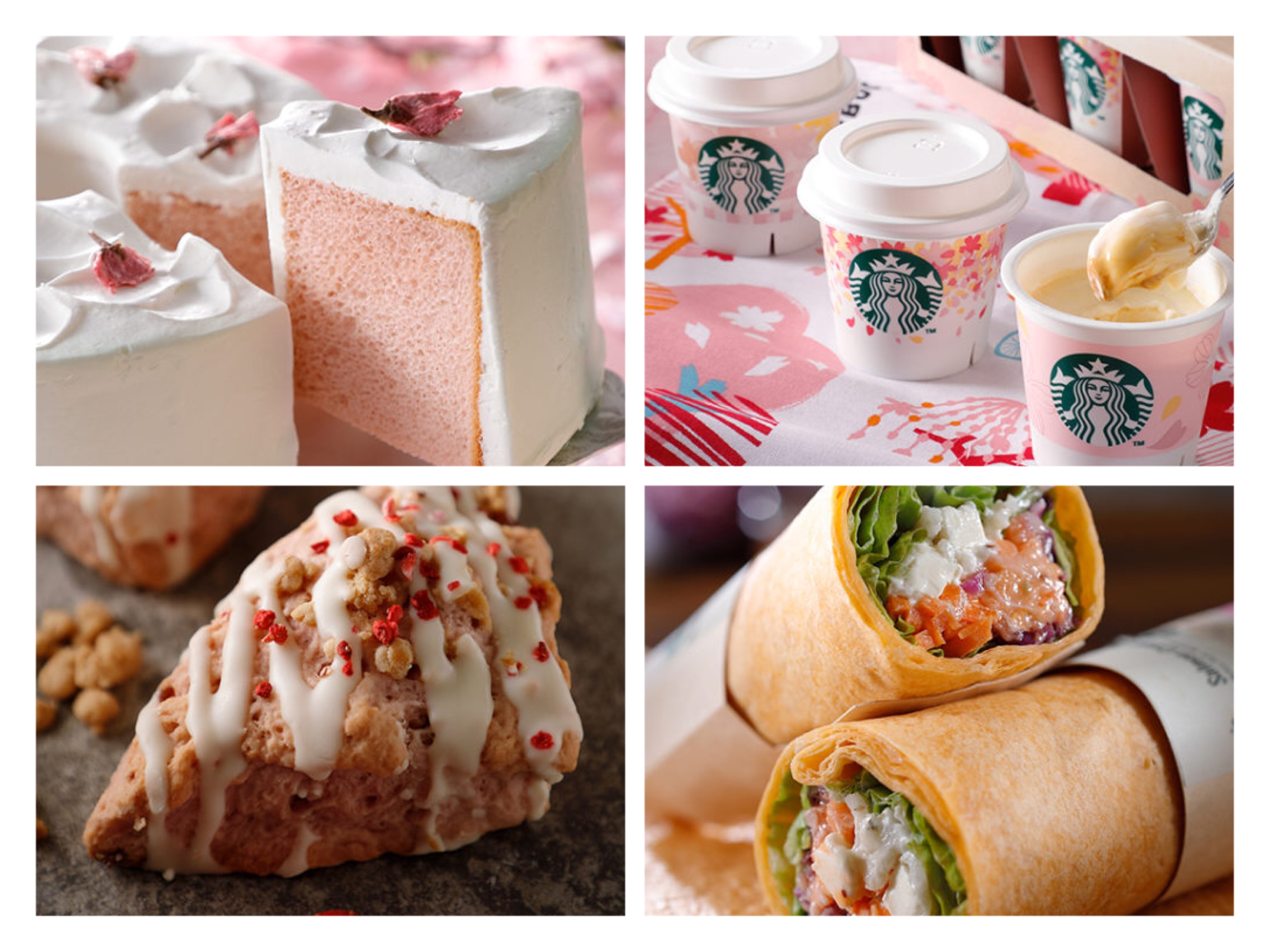 【2018新作】さくらシフォンケーキにドーナツ、スコーン!2/15〜発売のスタバのフードが超絶美味しそう!みんなの感想と実物レビューも!【桜プロモーション】