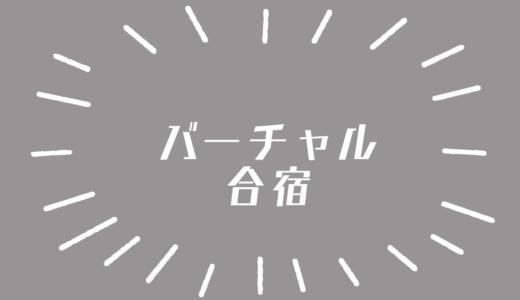 『ひとりブログ合宿』を終えて分かったことと反省点【バーチャル合宿】